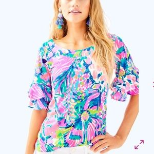 Lilly Pulitzer Tops - NWT Lilly Pulitzer lula top